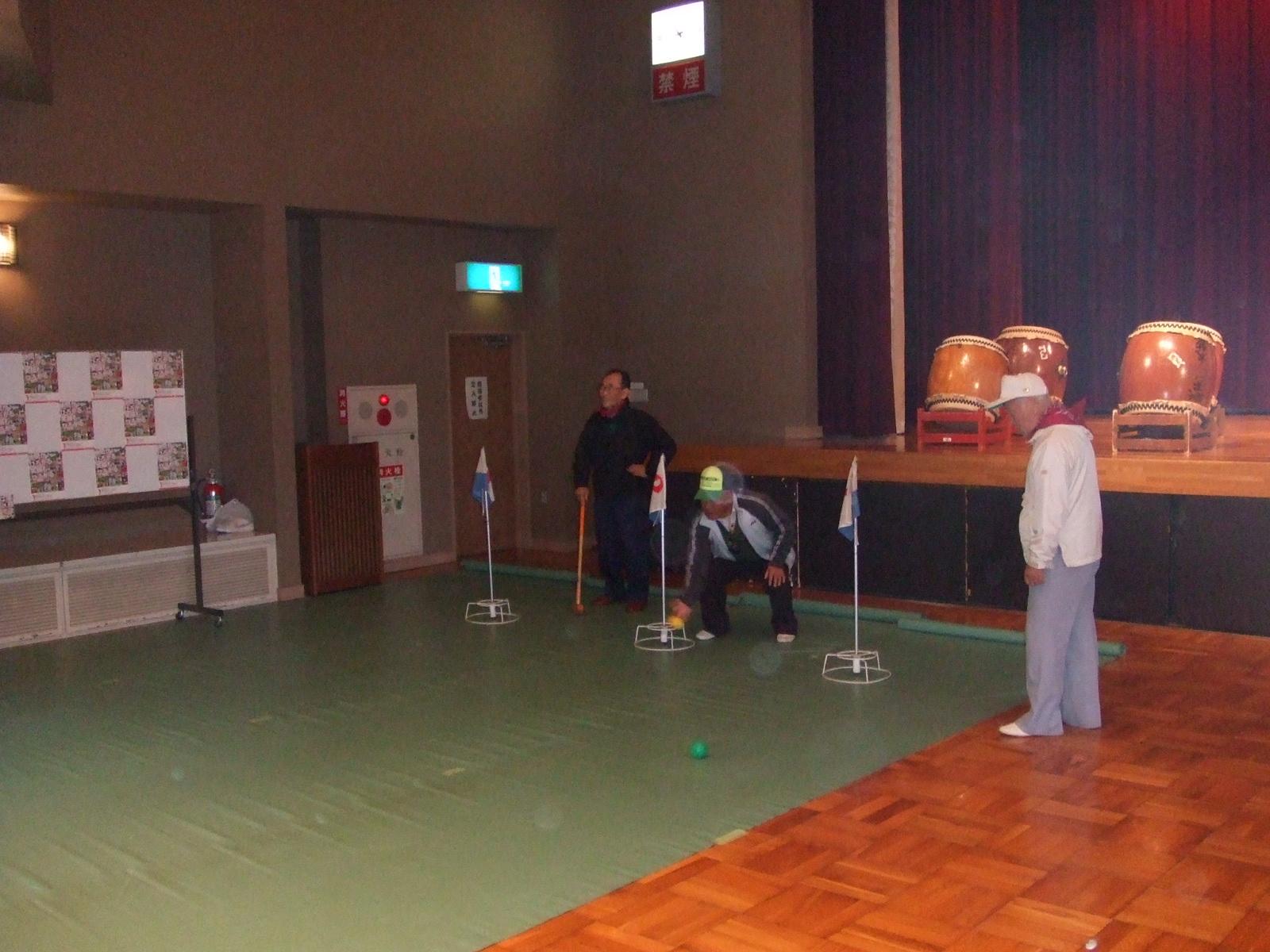 子どもフェスタ2012・グラウンドゴルフ4