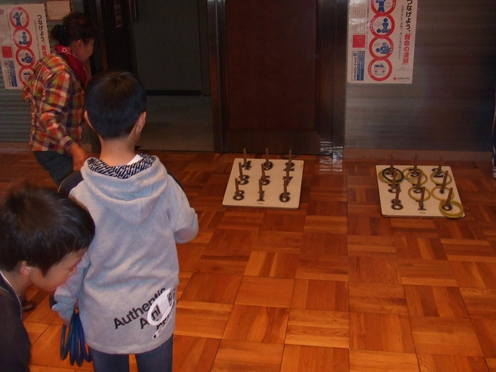 子どもフェスタ2012・輪投げ1